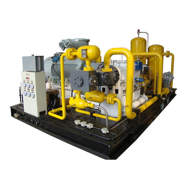 High Pressure Gas Compressor : Biogas compressor booster refine